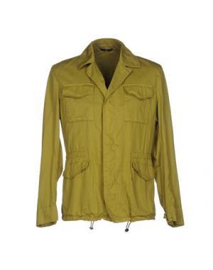 Куртка HEVÒ. Цвет: кислотно-зеленый