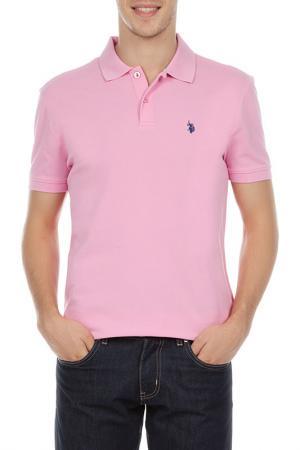 Футболка U.S. Polo Assn.. Цвет: 952 розовый