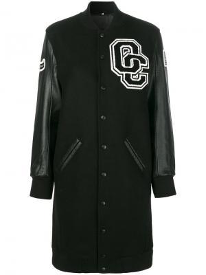 Удлиненная куртка Opening Ceremony. Цвет: чёрный