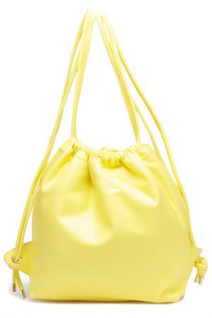 Рюкзак Vitacci. Цвет: желтый