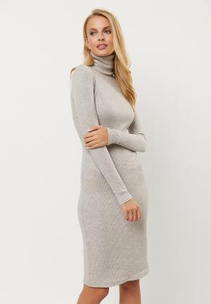 Платье Verna Sebe. Цвет: бежевый