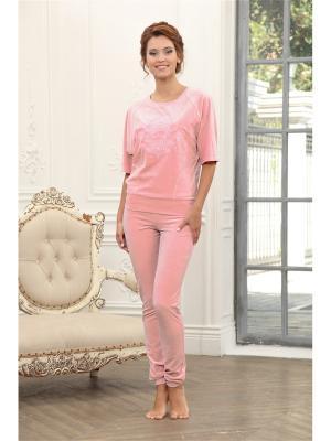 Комплект одежды CLEO. Цвет: коралловый