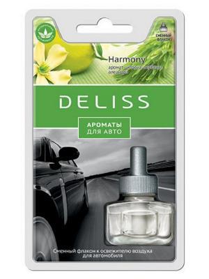 Автомобильный ароматизатор, сменный флакон Deliss. Цвет: зеленый