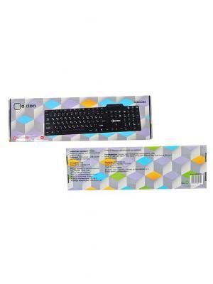 Клавиатура проводная OXION. Цвет: черный