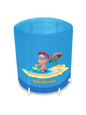 Бассейны для детей Baby Swimmer. Цвет: синий