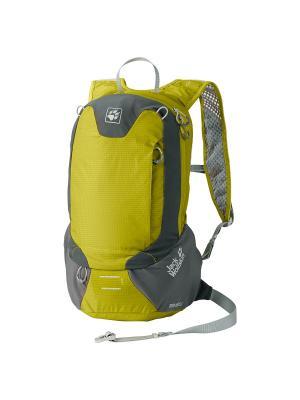 Рюкзак SPEED LINER 15.5 Jack Wolfskin. Цвет: желтый