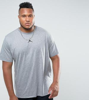 Jordan Серая футболка Nike PLUS Future 862417-091. Цвет: серый