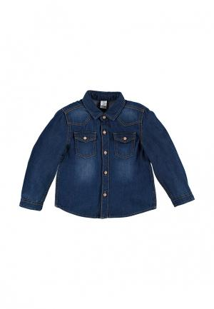 Рубашка джинсовая LC Waikiki. Цвет: синий