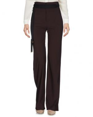 Повседневные брюки STRENESSE BLUE. Цвет: темно-коричневый