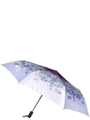 Зонт Eleganzza. Цвет: белый, лиловый, серый