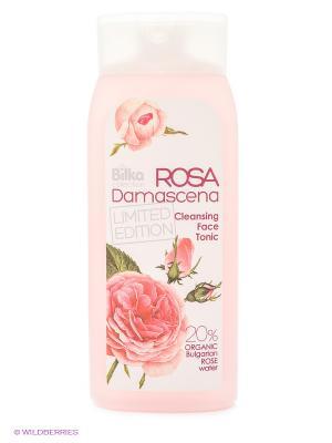 Тоник для лица очищающий Rose Damascene BILKA. Цвет: розовый
