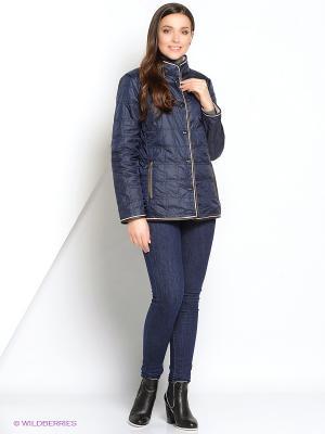 Куртка DIXI CoAT. Цвет: синий, серый