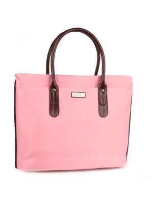 Папка-сумка Pola. Цвет: розовый