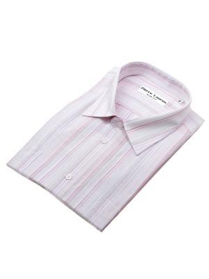 Рубашка Pierre Lauren. Цвет: красный, белый