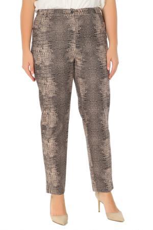 Зауженные брюки с застежкой на молнию Duran. Цвет: бежевый