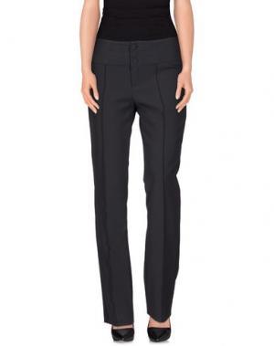 Повседневные брюки POIS. Цвет: свинцово-серый