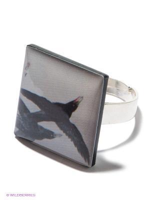 Кольцо НечегоНадеть. Цвет: серый