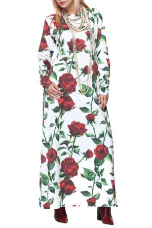 Платье Kata Binska. Цвет: белый, красный