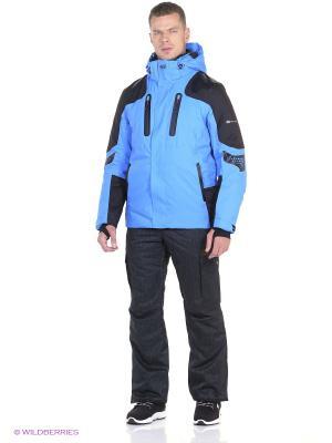 Куртка Stayer. Цвет: голубой, черный