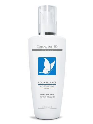 Тоник для лица увлажняющий AQUA BALANCE Medical Collagene 3D. Цвет: белый, синий