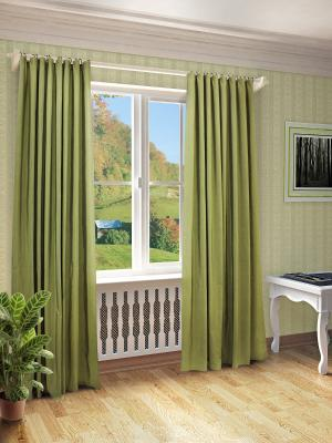 Готовая штора SANPA HOME COLLECTION. Цвет: зеленый
