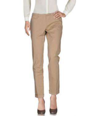Повседневные брюки WEBER. Цвет: бежевый