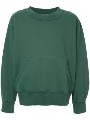 Толстовка Double Pocket Mr. Completely. Цвет: зелёный