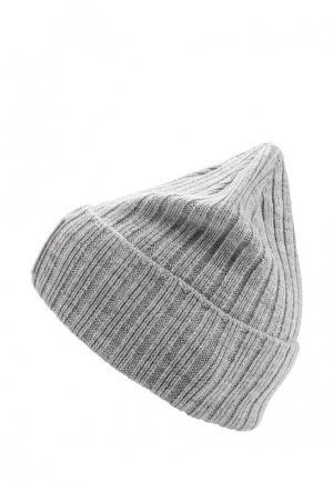 Шапка The North Face. Цвет: серый