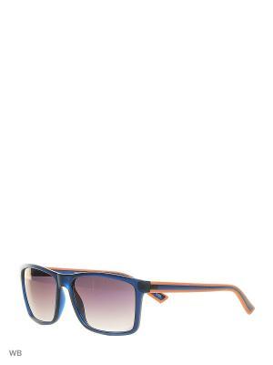 Очки солнцезащитные MS 01-356 20P Mario Rossi. Цвет: темно-синий, оранжевый