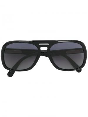 Солнцезащитные очки в овальной оправе Marc Jacobs Eyewear. Цвет: чёрный