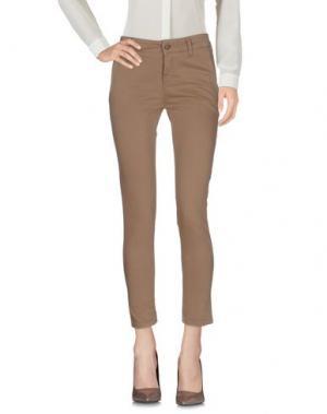 Повседневные брюки DIRTYPAGE. Цвет: бежевый