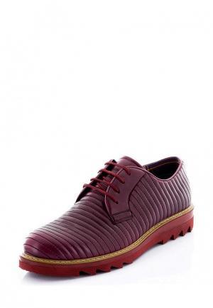 Ботинки Tonny Black. Цвет: бордовый