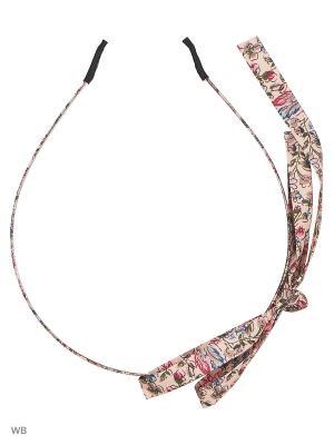 Ободок Бант Bizon. Цвет: розовый