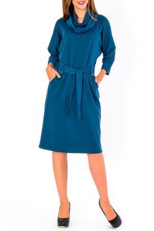 Платье S&A style. Цвет: голубой