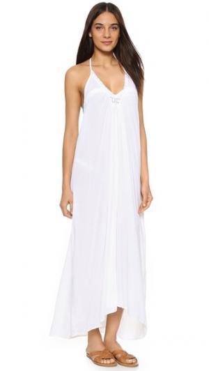 Пляжное платье Havana 9seed. Цвет: синий