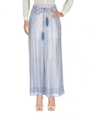 Повседневные брюки ELLA LUNA. Цвет: пастельно-синий