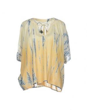 Блузка BELLA JONES. Цвет: желтый