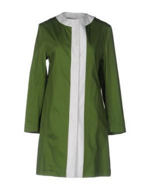 Легкое пальто GUTTHA. Цвет: зеленый