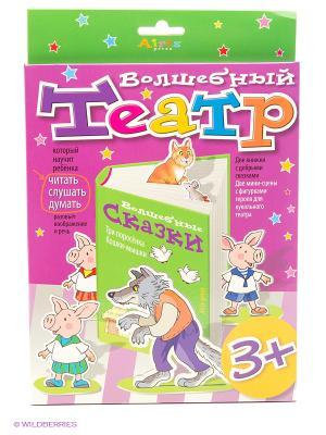 Волшебный театр. Три поросенка. Кошки-мышки АЙРИС-пресс. Цвет: фиолетовый, зеленый