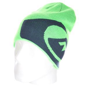 Шапка носок детская  M&w Youth Beanie Green Gecko Quiksilver. Цвет: синий,зеленый