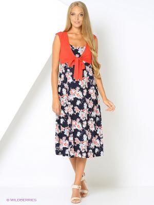 Платье-сарафан с болеро из шифона RIJJINI