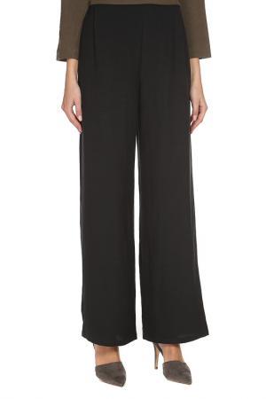 Расклешенные брюки с карманами Cyrille Gassiline. Цвет: черный