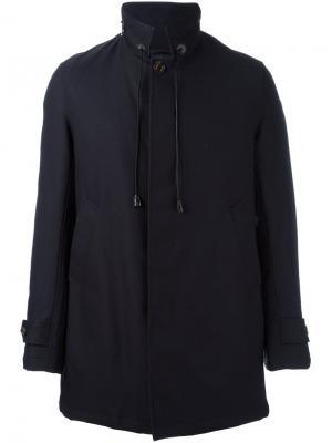 Куртка с высокой горловиной Sealup. Цвет: синий