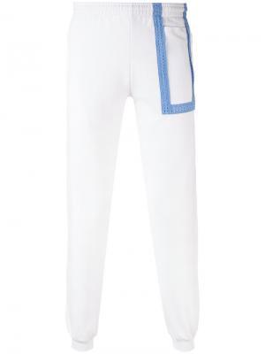 Спортивные брюки Hotel Cottweiler. Цвет: белый
