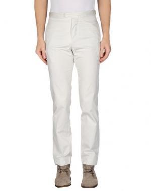 Повседневные брюки HELMUT LANG. Цвет: светло-серый