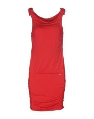 Короткое платье TOY G.. Цвет: красный
