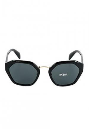 Очки PRADA sunglasses. Цвет: черный