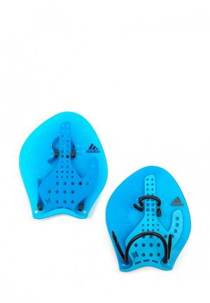 Акваманжеты adidas Performance. Цвет: синий