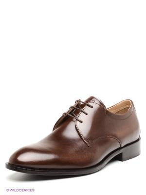 Туфли VENICE ECCO. Цвет: коричневый