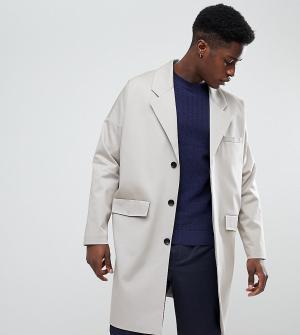 Noak Светло-бежевое легкое хлопковое пальто. Цвет: светло-бежевый